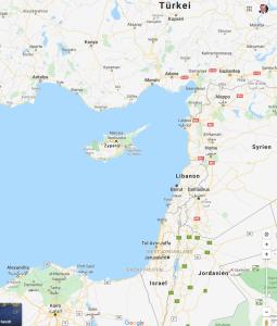 Zypern ist von islamischen Staaten umgeben. Die Hälfte der Insel ist türkisch.